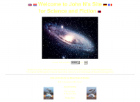 Web Site for astronomy, Science and Fiction