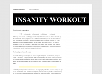 Insanity workout - In 60 dagen in topvorm met insanity!