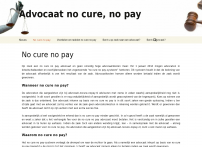 advocaat no cure no pay.