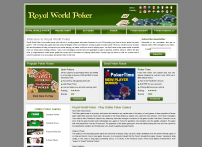 Poker Online – Play Online Poker at Royalworldpoker.com