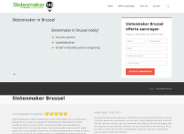 Slotenmaker in Brussel