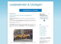 Loopkalender - Blogspot.be