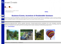 Bedrijfsevents & Residentiele Seminars