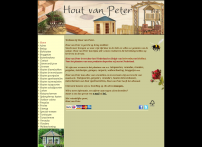 Hout van Peter is gericht op living outdoor