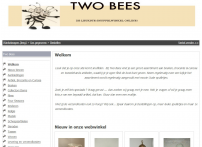 Welkom | Two Bees