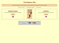 """Enter """"The Glamour Site"""""""