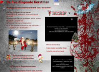 Kerst entertainment de zingende kerstman