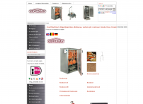 Stoveman - - Food Machinery Slagerijmachines, Barbecue, varken spit, rookoven, Smoke Oven, Fumoir