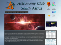Astronomy Club South Africa Home