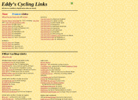 Eddy's Tour de France & Cycling Links
