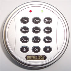 Crown Electronic Digit Combination Lock