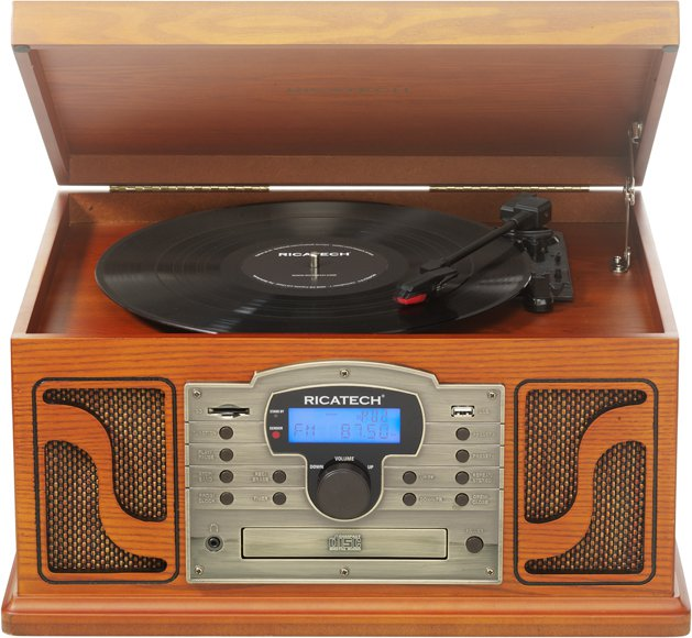 Ricatech RMC250 music center met Adele 25 Vinyl Album