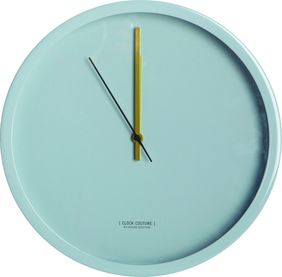 House Doctor Clock Couture Grey wandklok