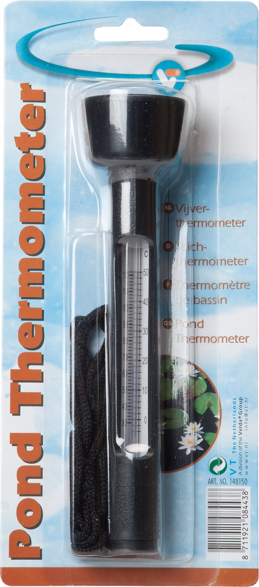 Vt pond thermometer kopen frank for Pond expert