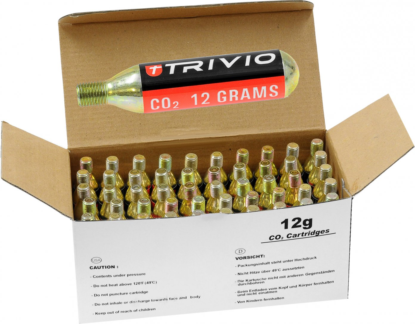 Trivio CO2 Cartridges 50 stuks