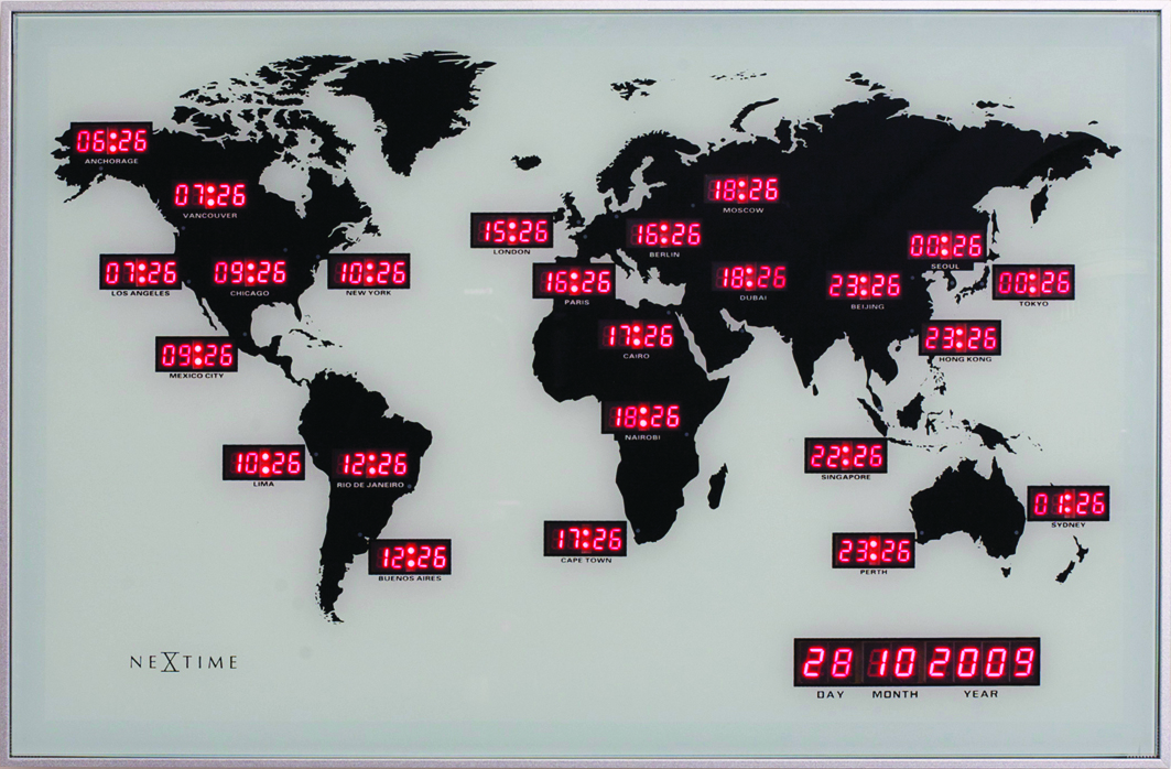 NeXtime World Time Digit