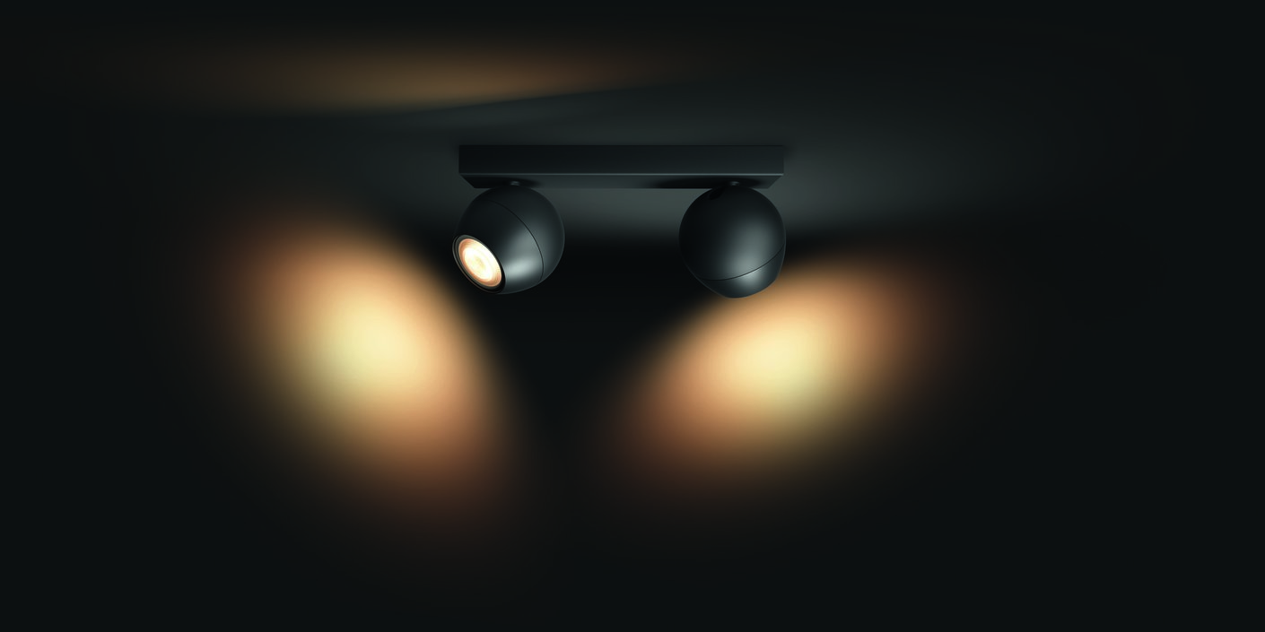 Philips Hue Buckram Duo spotlamp