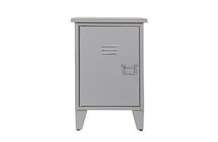 Woood Max Gray bedside table