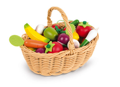 Janod Vegetable and Fruit Basket