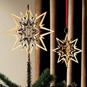 Georg Jensen Christmas Star tree topper