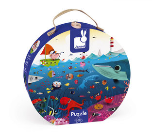 Janod Underwater world puzzle case