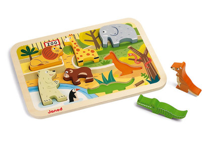 Janod Chunky Zoo animals puzzle