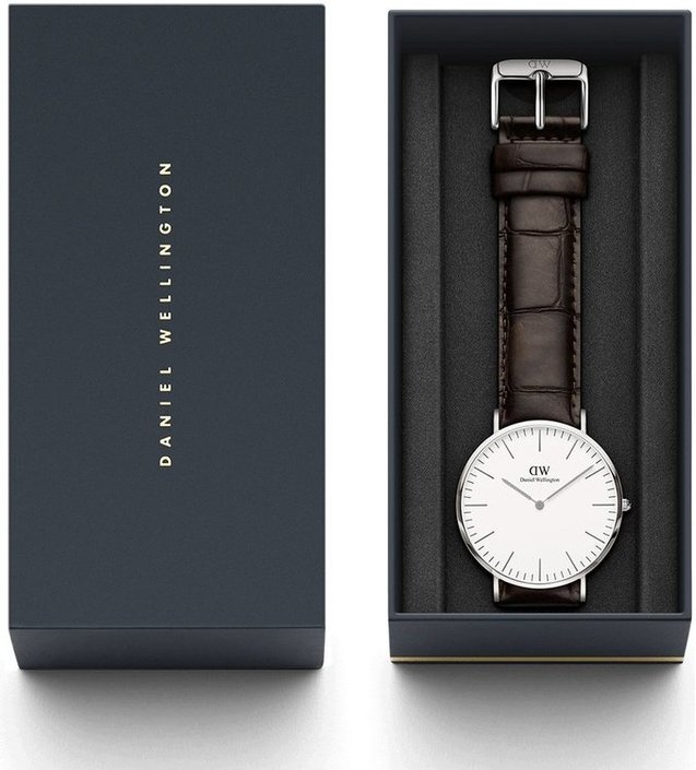 Montre Daniel Wellington Classic York Argent 40mm