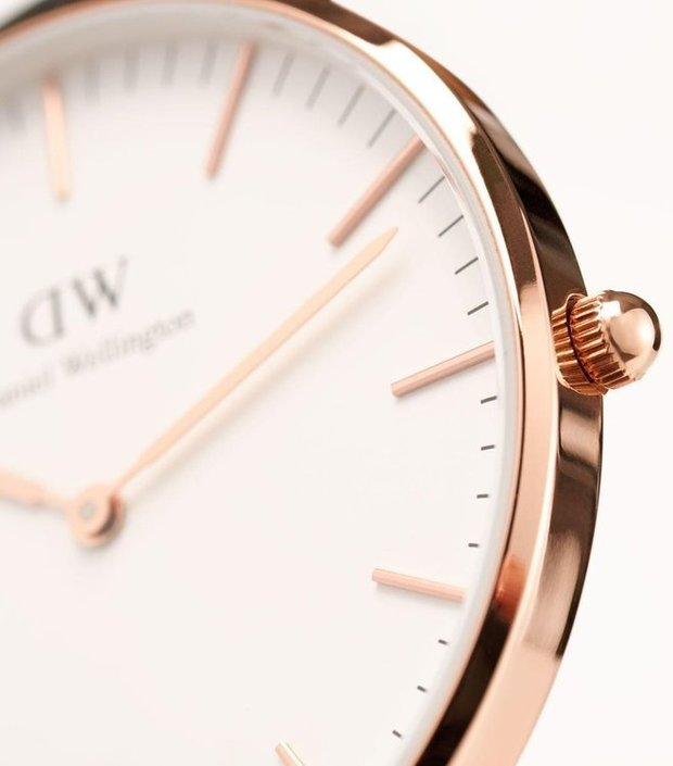 Daniel Wellington Classic York Rose 36mm Uhr