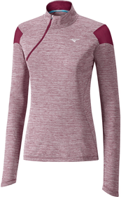Mizuno Alpha Long Sleeve Half-Zip ladies