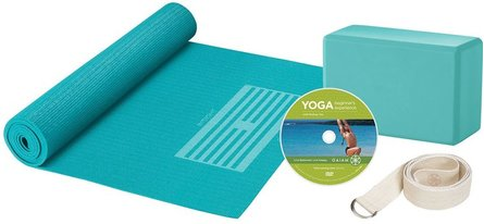Gaiam Yoga For Beginners starter package