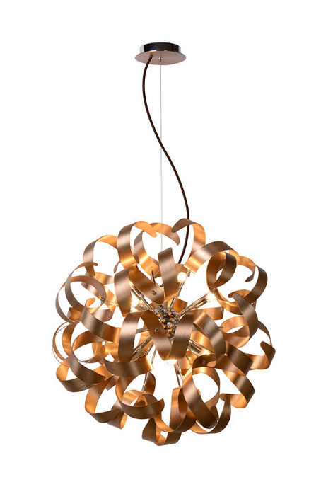 Lucide Atoma Medium Curly hanglamp