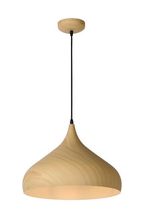 Lucide Woody Medium hanglamp