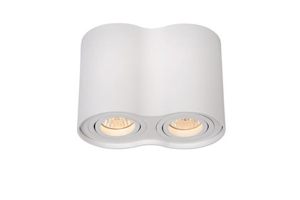 Lucide Tube Round Duo spotlamp
