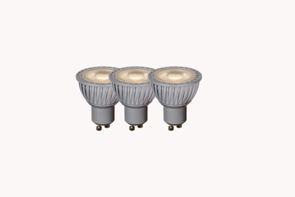 Lucide LED GU10 4.5W lichtbron 3-pack
