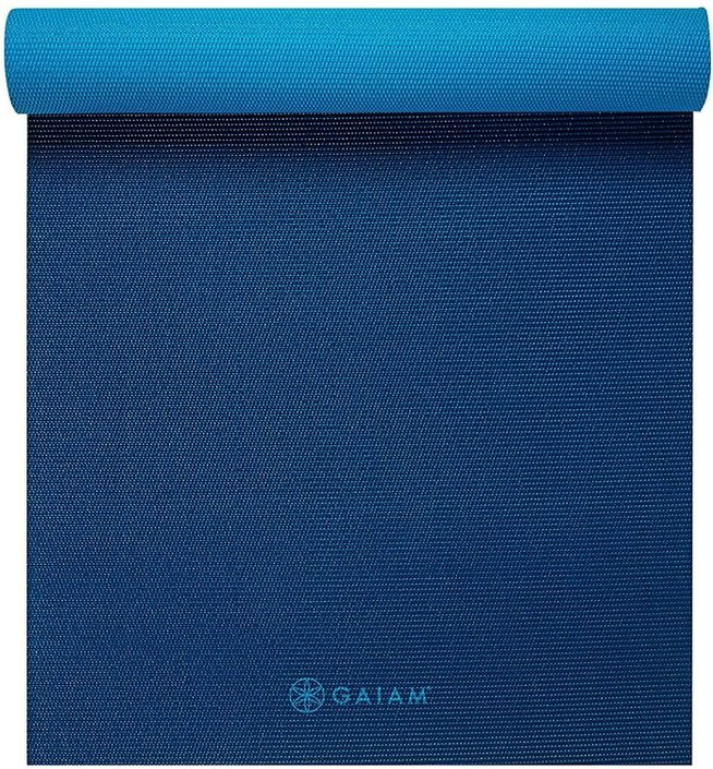 Gaiam Navy fitness- / yogamat