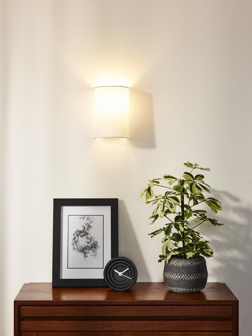 Lucide Coral Round wandlamp