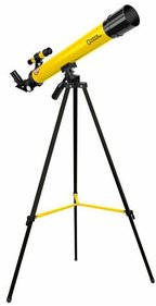 National Geographic 50/600 refractor telescope yellow