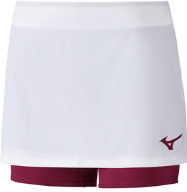 Mizuno Flex Skort white-red