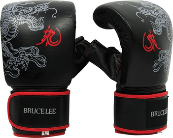 Bruce Lee Dragon Deluxe sac de boxe-gants