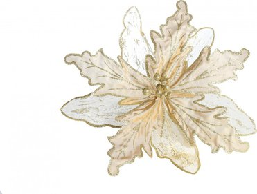 Decoration flower Satin Glitter
