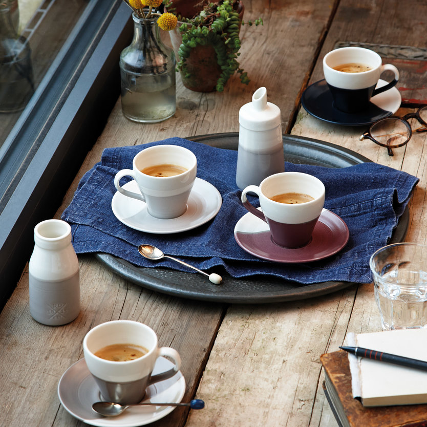 Royal Doulton Coffee Studio Voorraadpot Tweekleurig