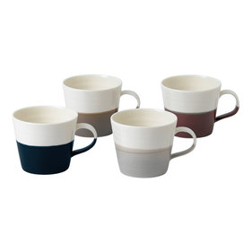 Royal Doulton Coffee Studio kleine mok - set van 4