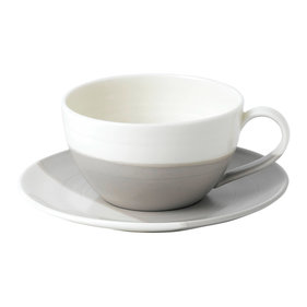 Royal Doulton Coffee Studio Latte kop en schotel tweekleurig