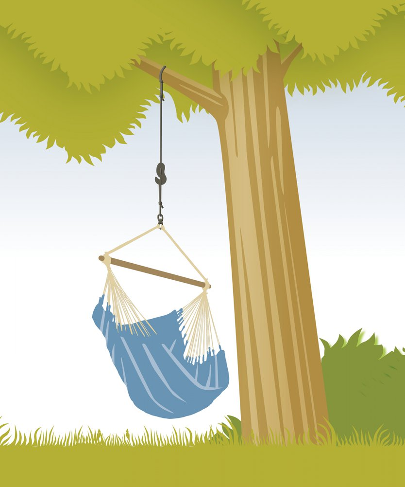 La Siesta Hammock chair fixing set: tree