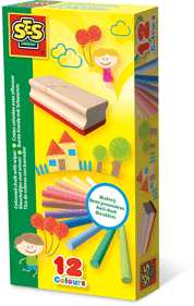 SES Color chalks with eraser
