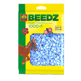 SES Iron on beads light blue