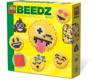 SES Beedz: String beads emoticons