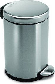 SimpleHuman Mini Round Step Can 3 Liter