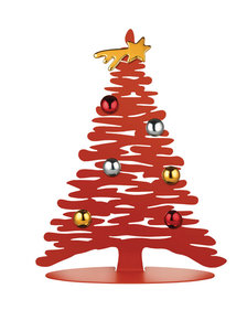 Alessi BARK for Christmas Christmas tree stainless steel 30 cm incl. magnets