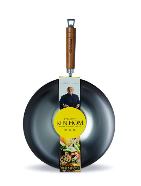 Ken Hom Everyday Steel wok - 31 cm
